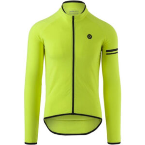 AGU Shirt Lm Essential Thermo Neon Yellow Fietsshirt Heren - Maat XL