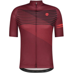 AGU Striped Essential Fietsshirt Heren