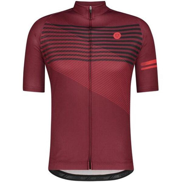 AGU Striped Essential Fietsshirt Heren