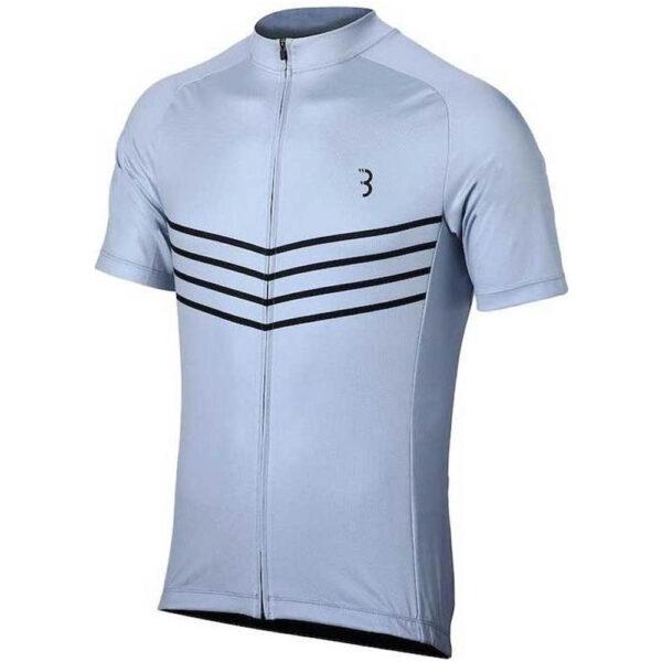 BBB Cycling ComfortFit - Fietsshirt korte mouwen - Maat M - Heren - Grijs