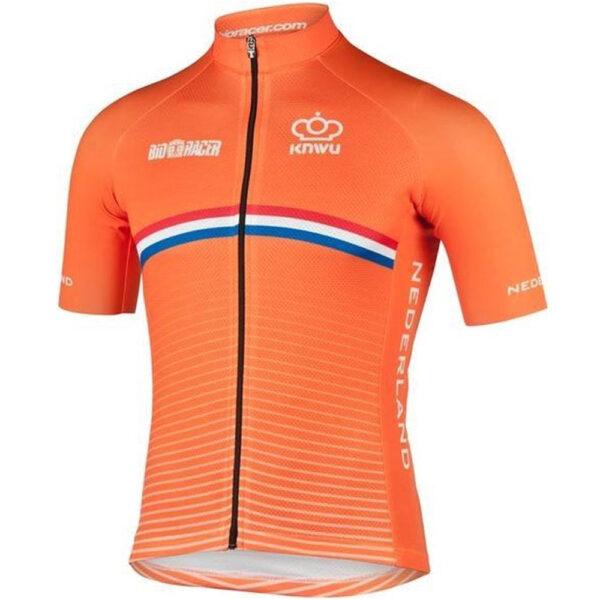 Bioracer Netherlands Bodyfit Short Jersey