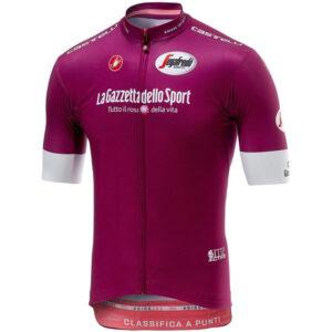 Castelli Giro Squadra Fietsshirt korte mouwen Heren roze